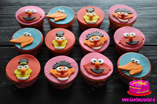 sesamstraat-cupcakes-2