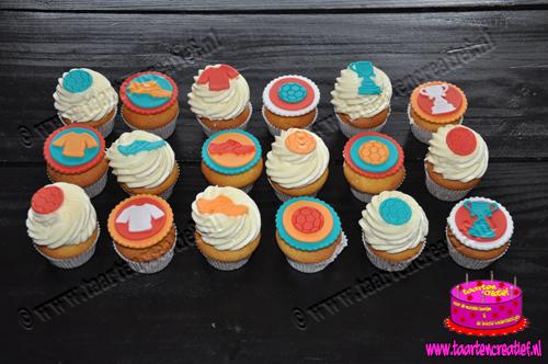 voetbal-cupcakes
